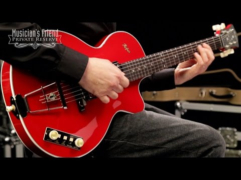 Hofner Gold Label Limited Edition Club Guitar, Red
