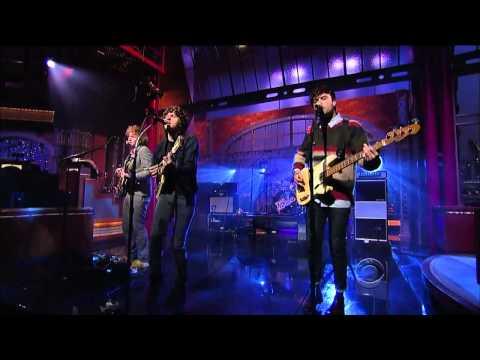 The Kooks - Junk of the Heart (Happy) [HD] (Live Letterman 2011)