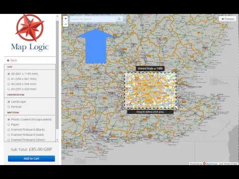 Map Logic - Postcode Maps