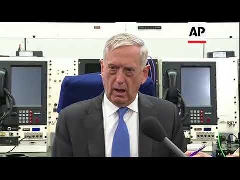 Mattis Pushing Allies on Detainees in Syria
