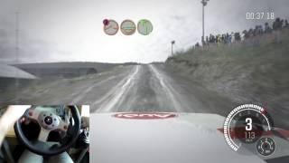 Dirt Rally Logitech G25 + H SHIFTER + POV | shooter