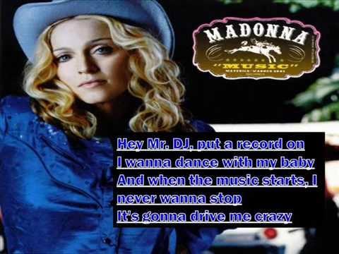 Madonna - Music (Lyrics)