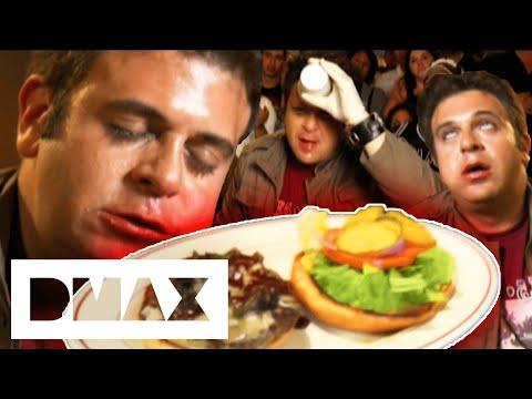 Adam V The Four Horsemen Challenge | Man V Food