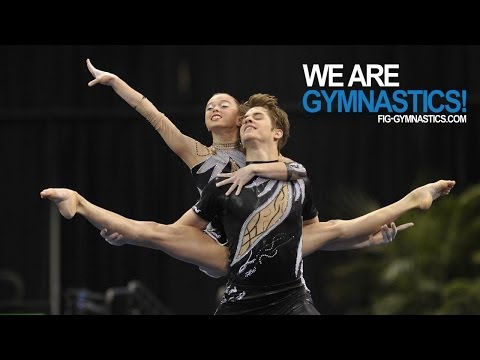 2012 Acrobatic Gymnastics Worlds LAKE BUENA VISTA  Mixed Pair Final  We are Gymnastics!