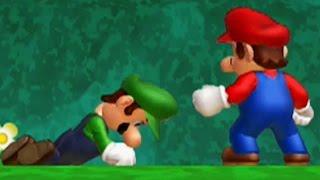 New Super Mario Bros. U Walkthrough - World 1 - Acorn Plains (All Star Coins & Secret Exits)