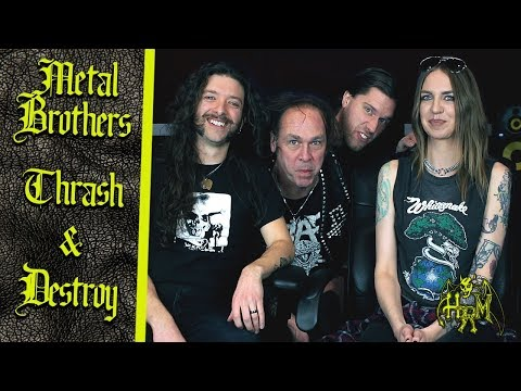 Metal Brothers Thrash And Destroy: A Conversation with Vic Stown of VINDICATOR