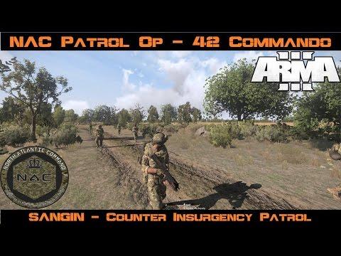 "Arma 3 - British Army Patrol OP - ""Counter Insurgency"" - Sangin"