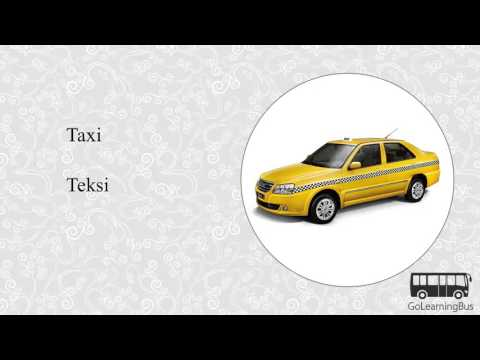 Learn Malay Visual Dictionary - Travelling and Transportation via Videos by GoLearningBus(3K)