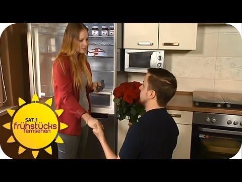 Süßer Heiratsantrag | SAT.1 Frühstücksfernsehen