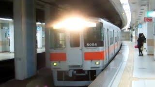 【山陽電気鉄道】5000系5004F 阪神梅田行き直通特急@板宿