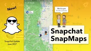 How to Use SnapMaps - Snapchat Maps