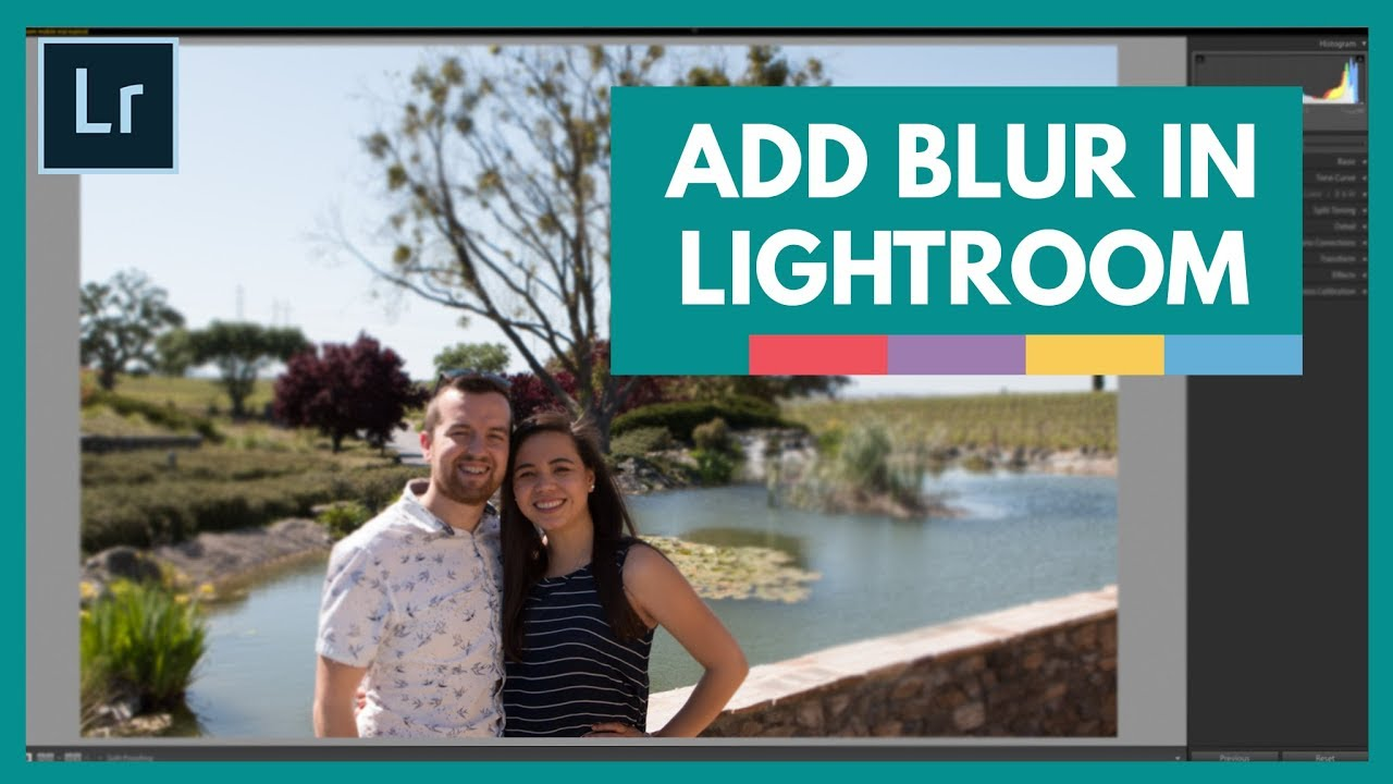 How To Add Blur To Photos In Lightroom