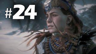 Horizon Zero Dawn Gameplay Walkthrough Part 24 - Mountain That Fell (PS4 Pro)
