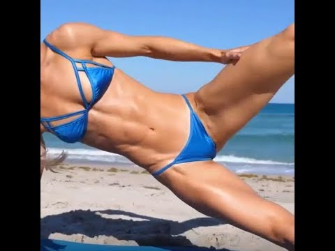 sexy girl fitness training part 3