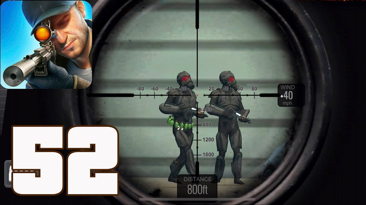 Sniper 3D Assassin: Shoot to Kill - Gameplay Walkthrough Part 52 - Region  15 Completed(iOS, Android)