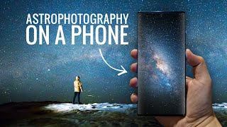Astrophotography on a Phone // Samsung Galaxy Note 20 Ultra