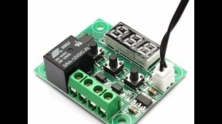обзор терморегулятора w1209. overview thermostat w1209