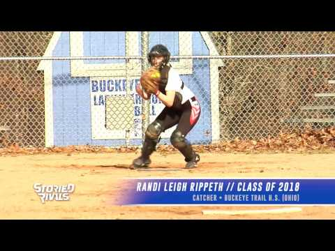 SOFTBALL RECRUIT: Randi Leigh Rippeth - Catcher (Buckeye Trail High School - Class of 2018)