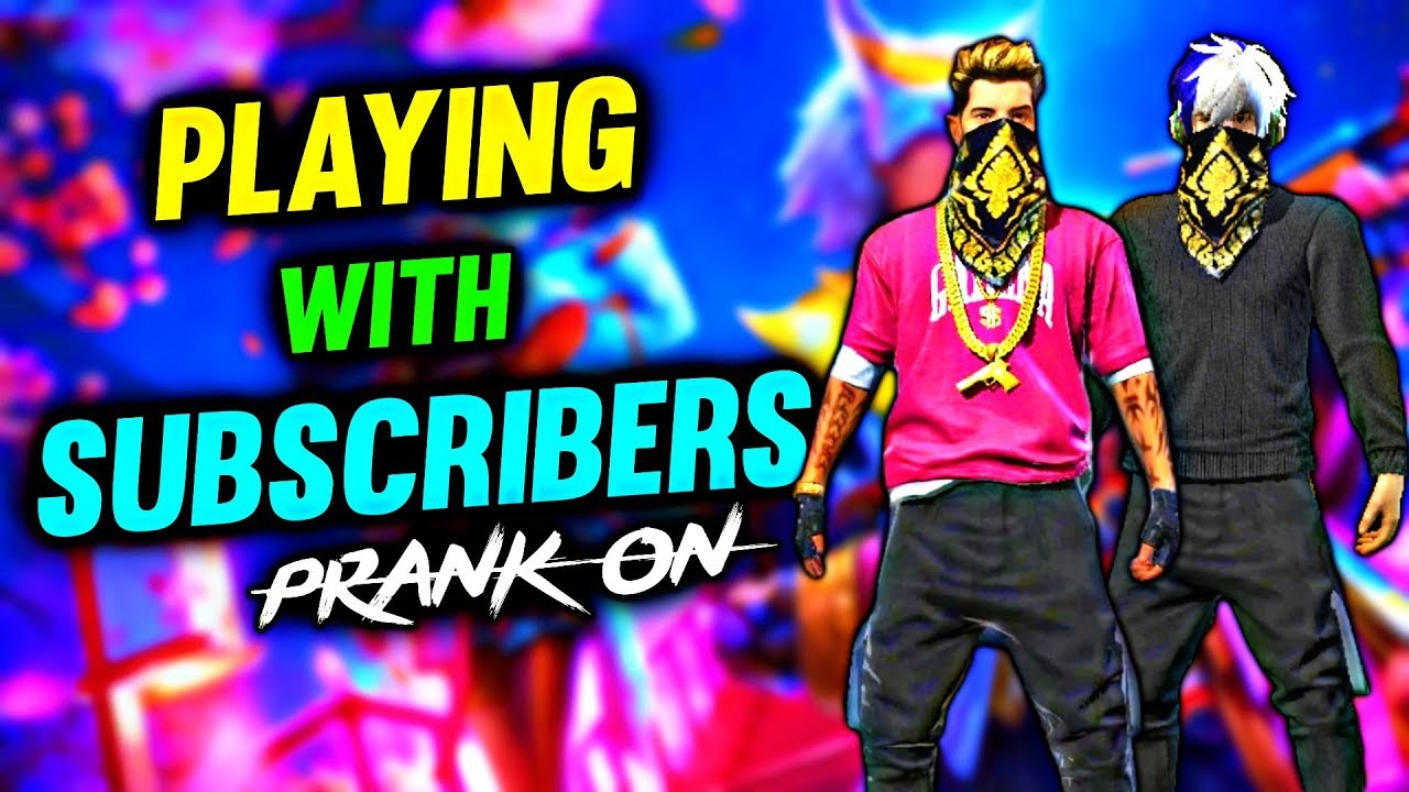 FREE FIRE LIVE    PLAYING WITH SUBSCRIBERS JOIN FAST