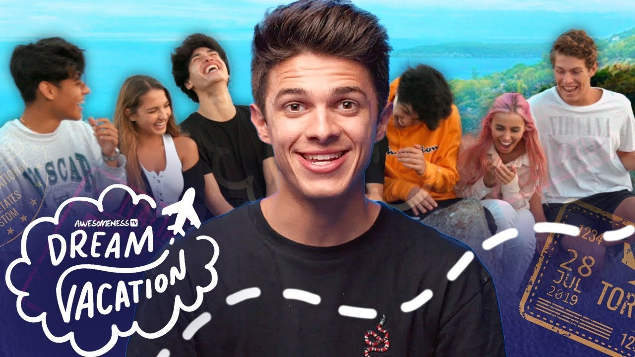 Brent Rivera's Dream Vacation TRAILER feat. Lexi Rivera, Ben Azelart, Stokes Twins and more!