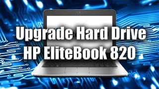 How to Upgrade Hard Drive HP EliteBook 820 - PC Tutorial