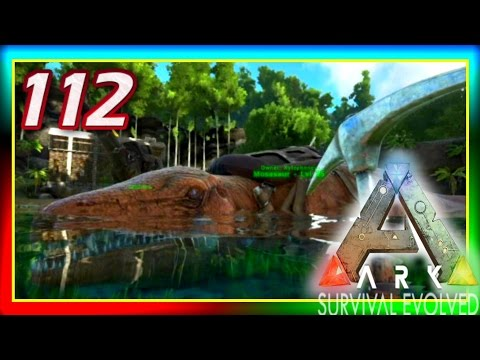 ARK: Survival Evolved - BEACHED MOSASAUR + Solar Power! - S2E112 (Modded Gameplay) w/ Xylophoney