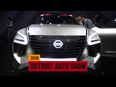 Nissan Xmotion concept piles on the beefcake in Detroit