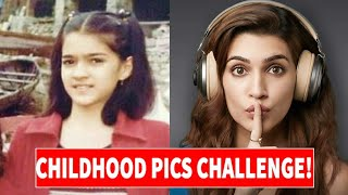 Guess The Bollywood Actor/Actress By Their Childhood Photos | Bollywood Quiz
