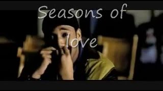 Seasons of Love Karaoke (with background vocals)