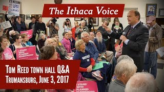 Tom Reed town hall Q&A (entire meeting) Trumansburg, June 3, 2017