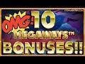 10 Megaways BONUSES!! How Much WILL I WIN??