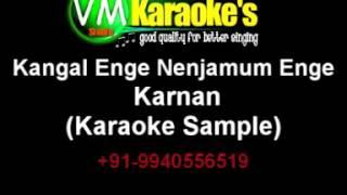 Kangal Enge Nenjamum Enge Karaoke Karnan
