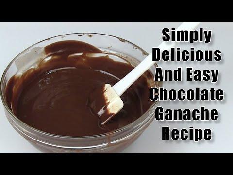 A Simply Delicious And Easy Chocolate Ganache Recipe