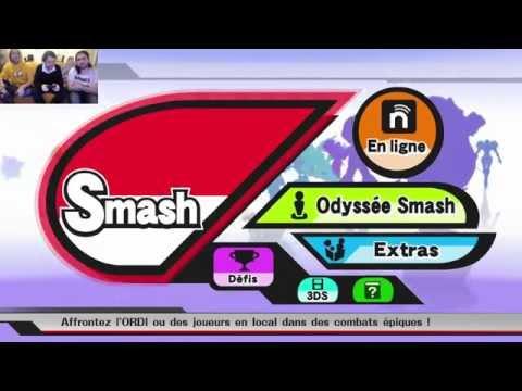 Benzaie, Fred & Seb du Grenier se clashent sur SMASH BROS WiiU ! (découverte)
