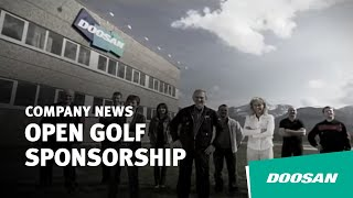 Doosan Announces Open Golf Sponsorship Thumbnail