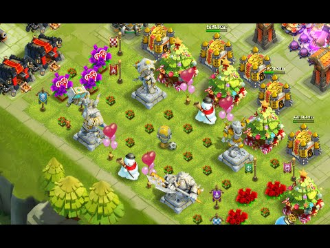 Castle Clash Best Defense For Wave I + J No Garrisons