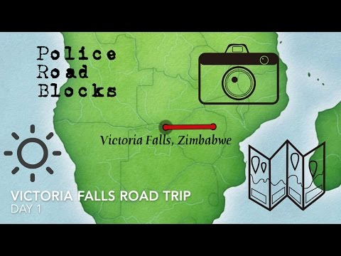 Road Trip to Victoria Falls, Zimbabwe | Got Stopped by the Police! | Day 1- Part 1
