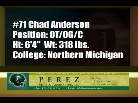 Chad Anderson Football Highlight Film Recruiting Tape