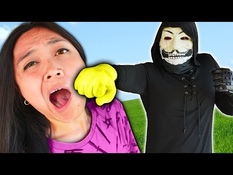 PZ9 is ANGRY at ME over NAME REVEAL - REGINA & DANIEL Spying on Hacker for 24 Hour Challenge