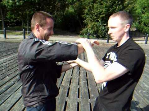 AFS Wing Chun - Chi Sau with Paul Wallis & Chris Leadbitter Part1