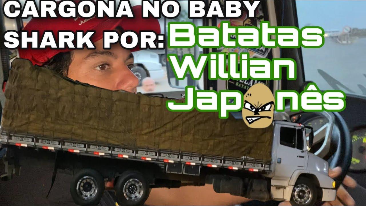 CARGONA DO BABY SHARK POR BATATAS WILIAN JAPONÊS 🥔🍥
