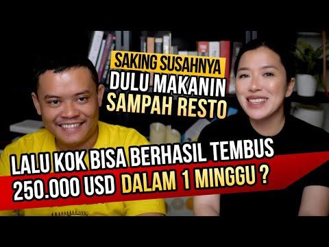 INSPIRATIF. BERKAT INTERNET! TEMBUS USD 250K SEMINGGU ⚡