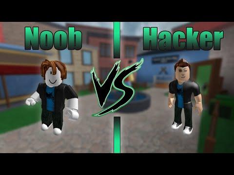 Hacker VS. Noob [Roblox Murder Mystery 2 Edition]