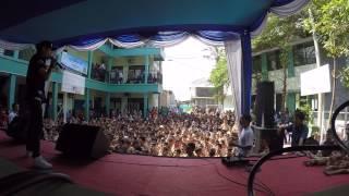 EBITH BEAT A live @sma karawang ELING ELING UMAT