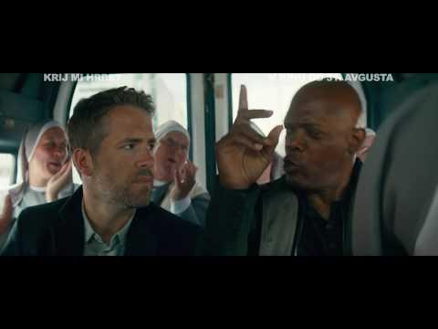 KRIJ MI HRBET Hitman's Bodyguard  v kinu od 31. avgusta!