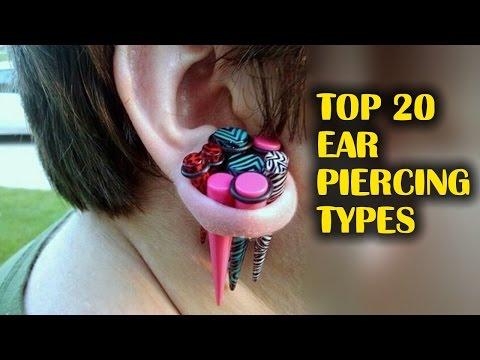 Top 20 Ear Piercing Types