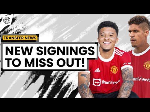 Sancho & Varane To Miss Start Of Season!   Man United News