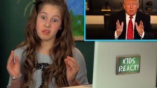 Children react to Donald Trump