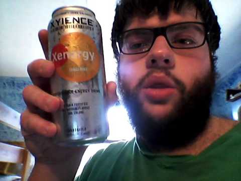 Deadcarpet Energy Drink Reviews - Tangerine Xyience Xenergy Energy Drink