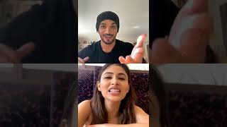 LIVE 🔴: Mouni Roy FUNNIEST Moment With Arjun Bijlani During Chat